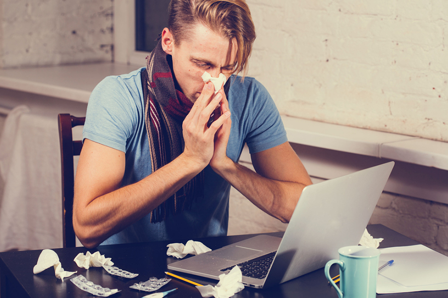 The presenteeism problem: Staff feel guilty taking sick days