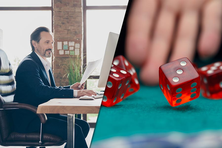 CEOs admit to taking regular 'gambles' at work