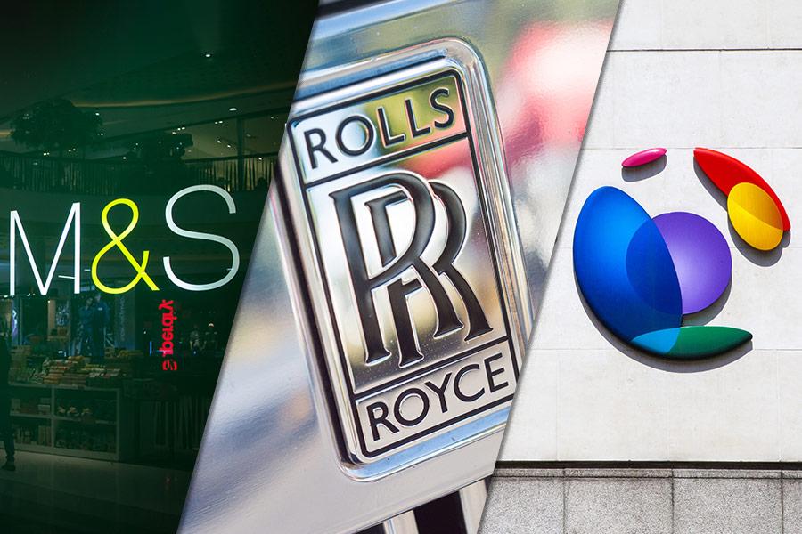 Boardroom news round-up: M&S, BT, Rolls-Royce
