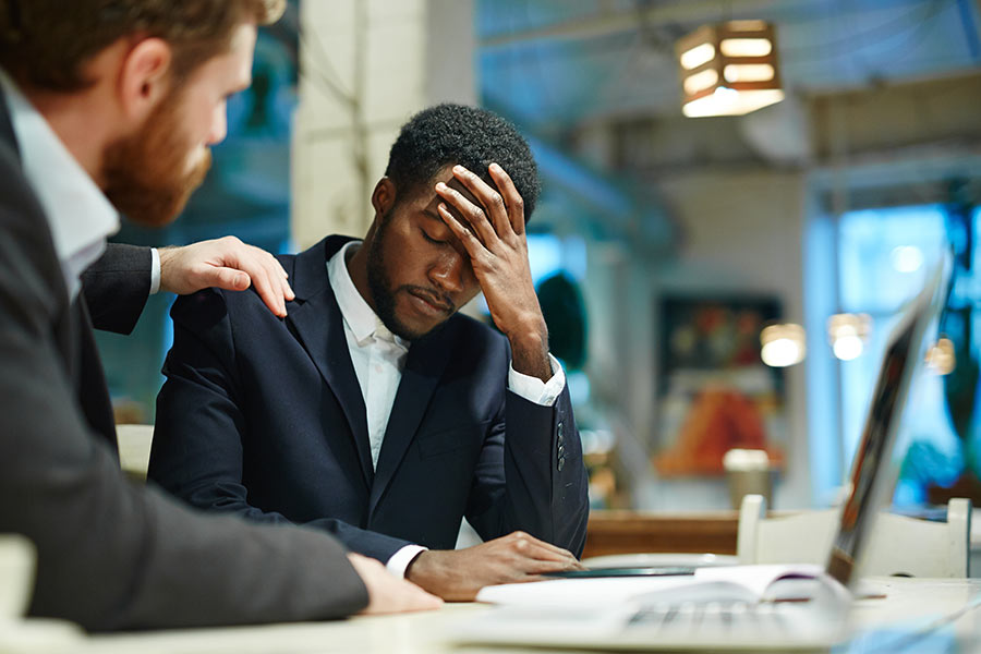 How can I champion a workplace mental health scheme?