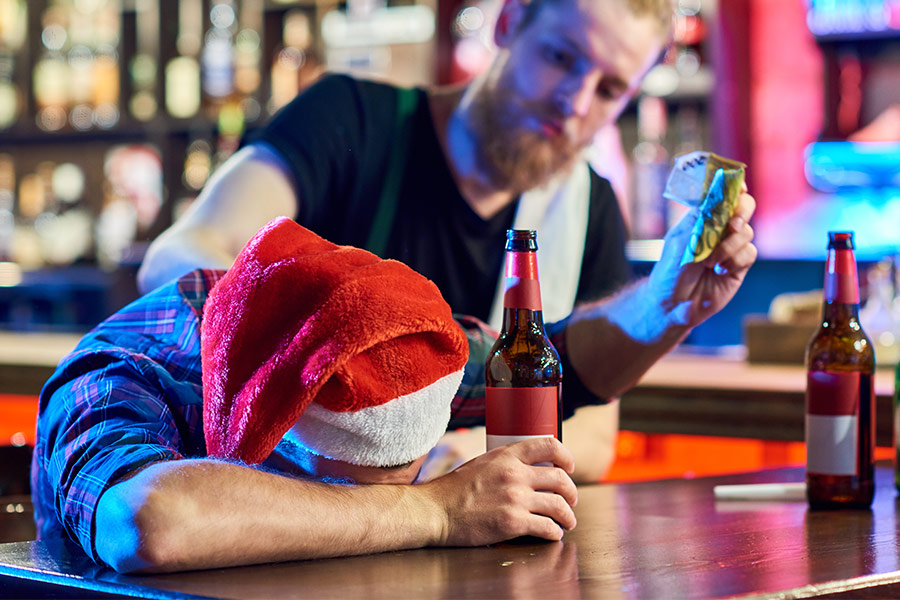 Why are businesses holding back on Christmas parties?