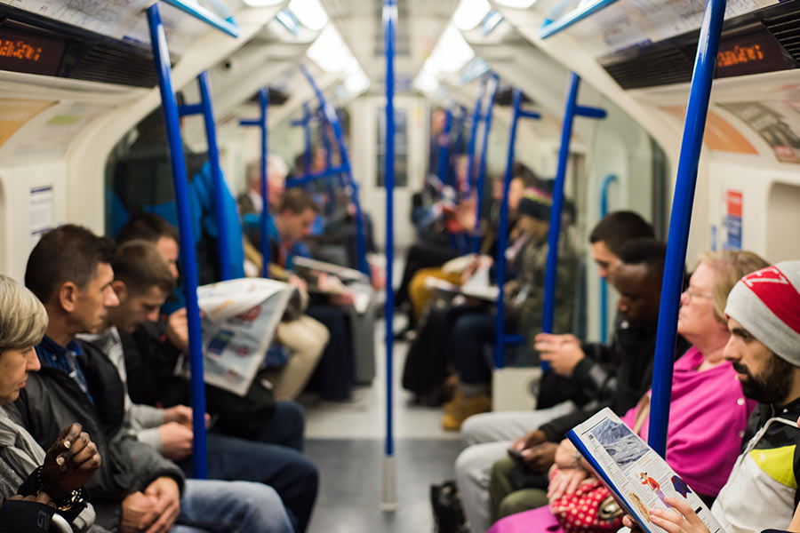 1 in 4 Brits spend a month a year commuting to work