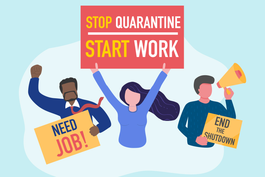 Coronavirus is giving more power to employees, not bosses