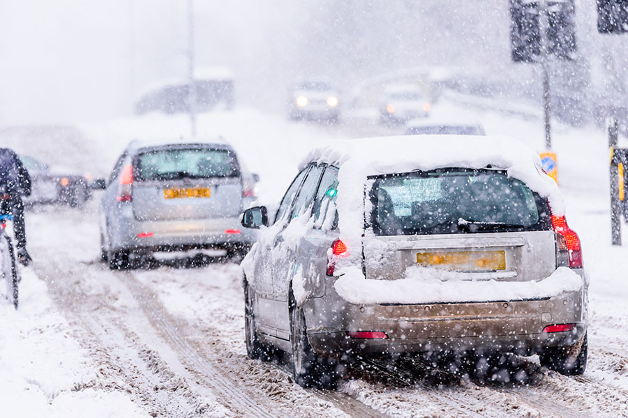 KFC, McDonalds and M&S staff forced to risk dangerous snow travel