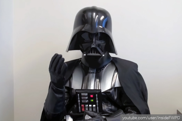 Darth Vader job interview goes viral