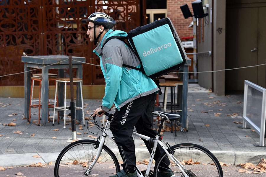 Deliveroo won't have to pay minimum wage or holiday pay