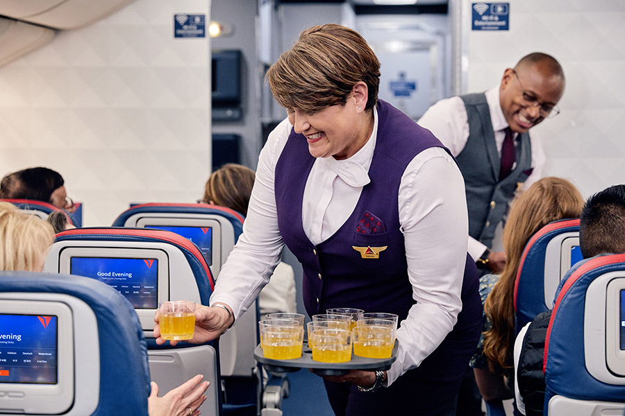 Delta Air Lines to ditch 'toxic' work uniforms
