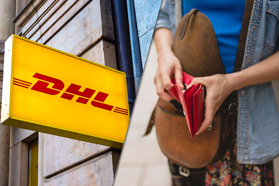 DHL docks 10% of workers' wages after 'HR blunder' overpays them