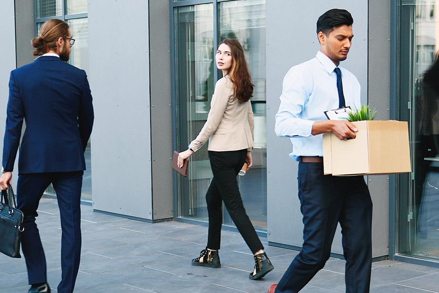 Has workplace redundancy lost its stigma?