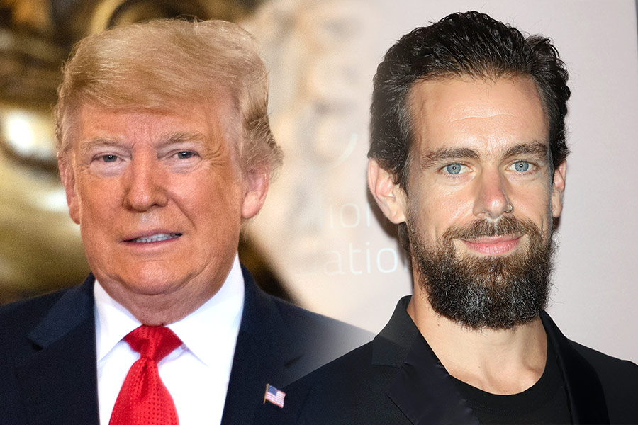 President Trump meets with Twitter's Jack Dorsey