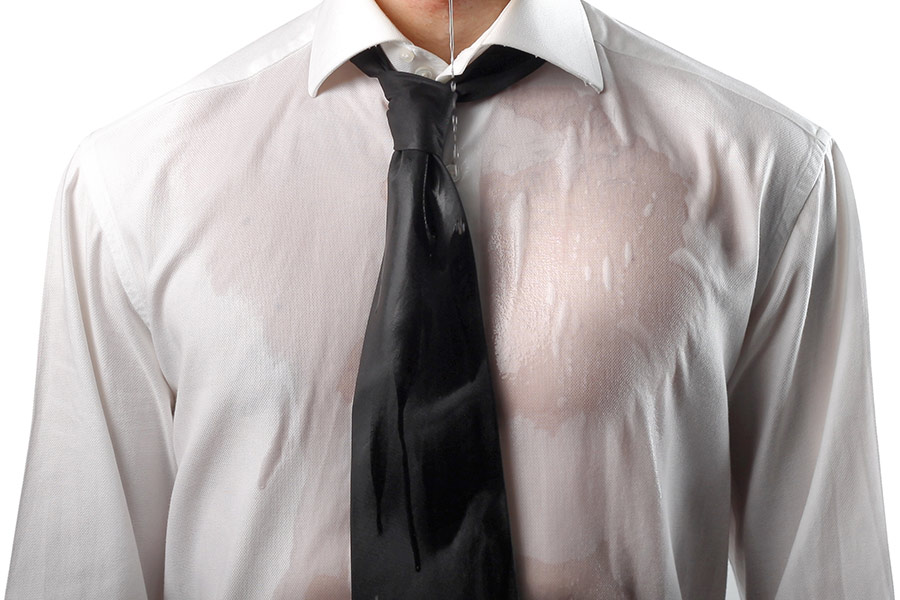 Shaming ritual sees 'underperforming' employee drenched by boss