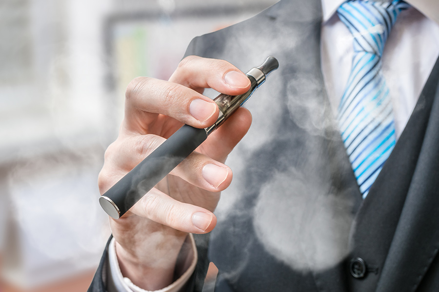 Give 'vaping' staff extra breaks & separate rooms - official advice urges