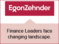 Egon Zehnder: Finance leadership in the Digital Age