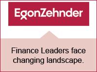 Finance leaders face changing landscape