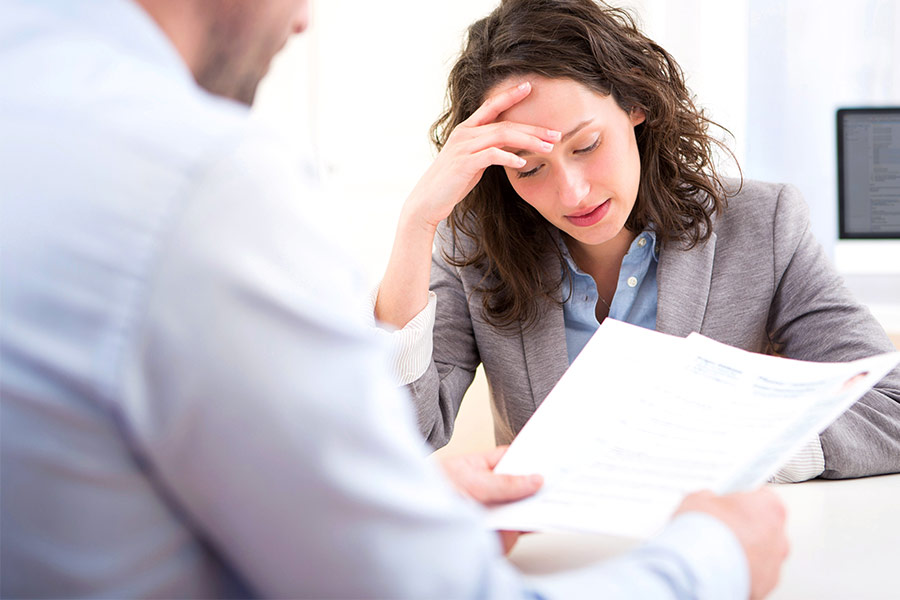 Staff don't want to admit where they work