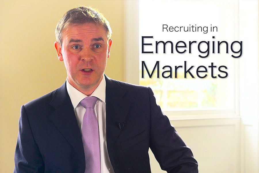 VIDEO: Recruiting in Emerging Markets