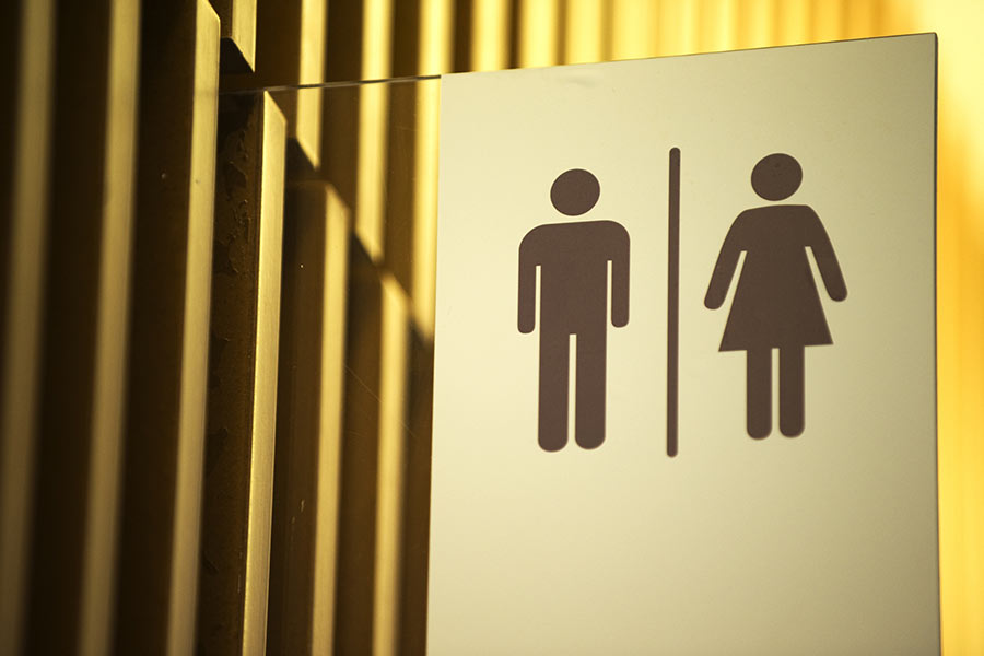 Employee claims discrimination after 'being fired' for bathroom usage