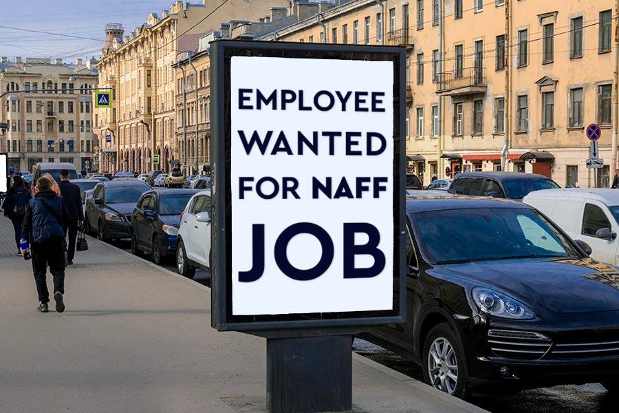 Employer stunned at response to 'rubbish job'