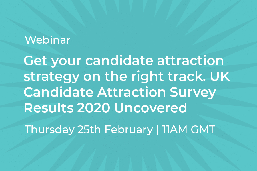 Book your place on the Candidate Attraction Webinar