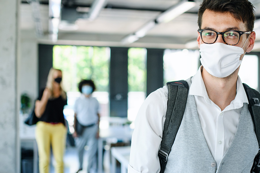 Should face masks be mandatory in the office?