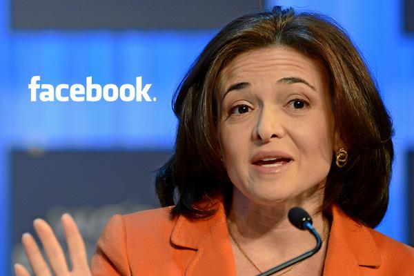 Facebook coo sheryl sandberg 39 men still run the world for Www coo