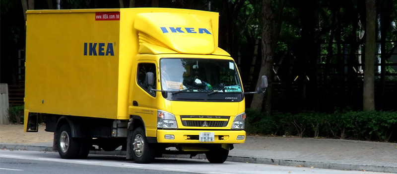 Outsourced IKEA drivers live in their trucks for months