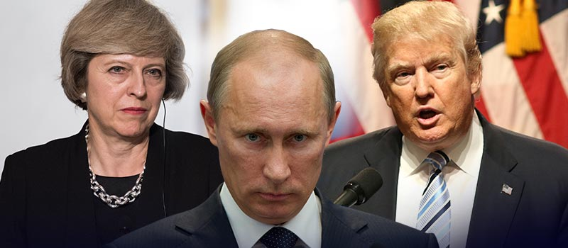 Will May and Trump band together against Putin?