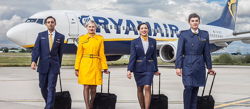 Watch Ryanair staff give 'musical' lesson in brand management