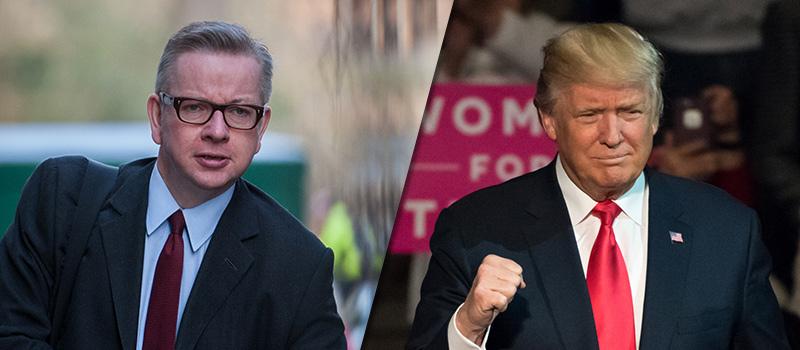 Political Punch-up: Trump vs Michael Gove