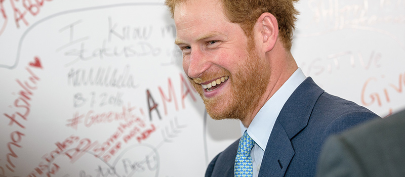 Prince Harry & Virgin Money CEO discuss mental health with staff