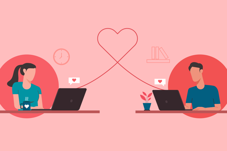 Third of single UK staff have found lockdown love at work