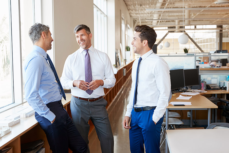 Ways to get your male employees talking