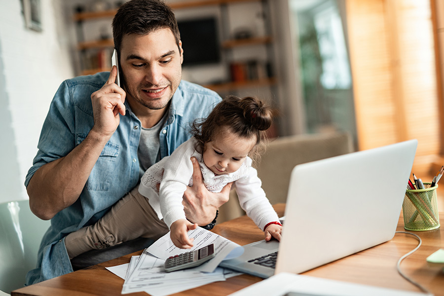 Top 10 'realistic' tips for home working parents