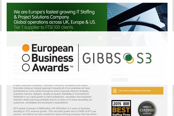 Gibbs S3 named as UK Champion