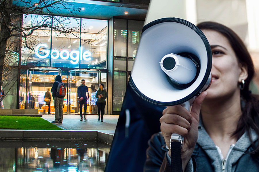 Google ex-employee scores payout after being 'sacked for workplace activism'