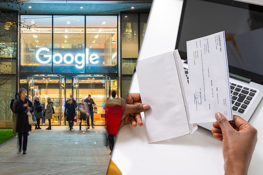Google could cut remote workers' wages - rolling out a tool to show staff how much they'll lose