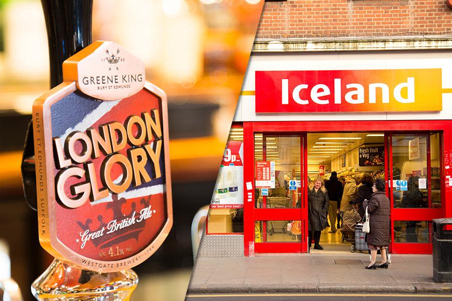 Greene King & Iceland among firms having to shut workplaces