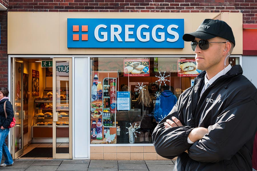 Greggs steps up sausage roll security in latest recruitment drive