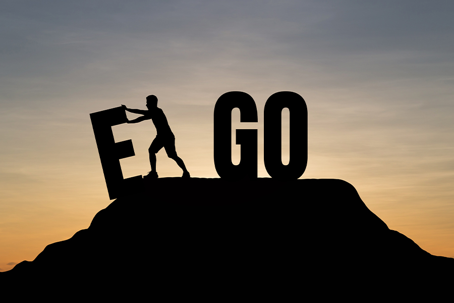 Boss provides guidance on 'egoless' leadership