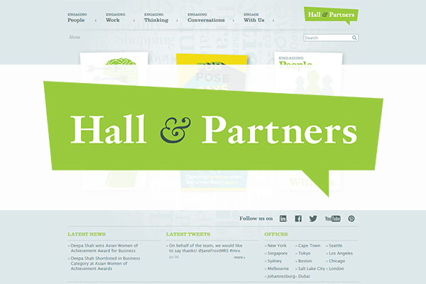 Hall & Partners hires Global Learning & Development Director