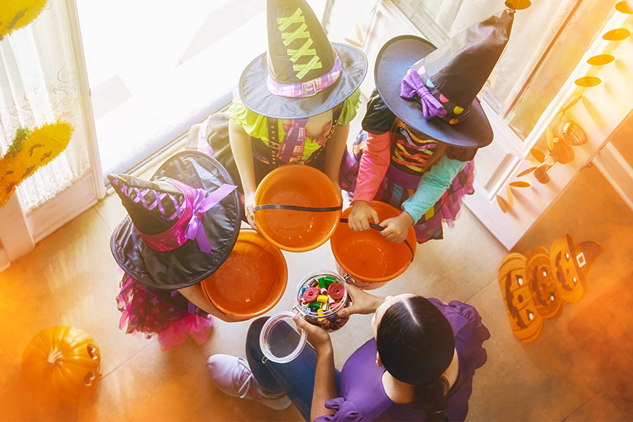 Job advert for trick or treating assistant calls for Halloween help