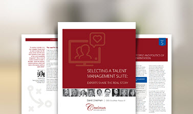 NEW White Paper! How to select a talent management system: Secrets from the experts