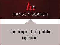 Hanson Search: The impact of public opinion