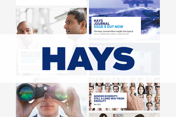 Hays selects new Group Director