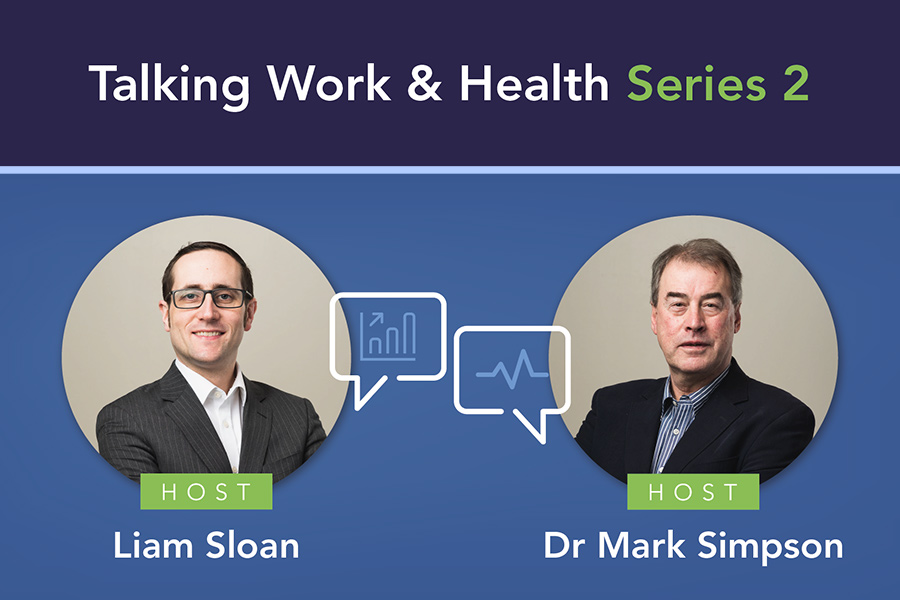 Business and HR advice podcast 'Talking Work and Health' returns for second series