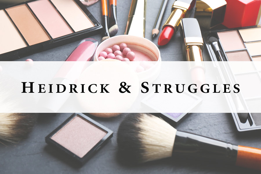 Heidrick & Struggles looking good in cosmetics sector