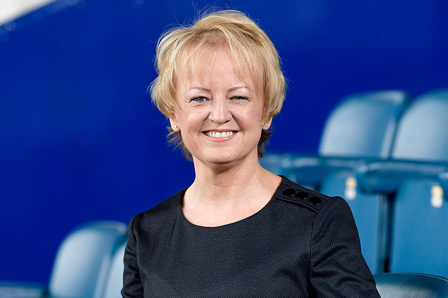 Kim Healey, People Director, Everton Football Club