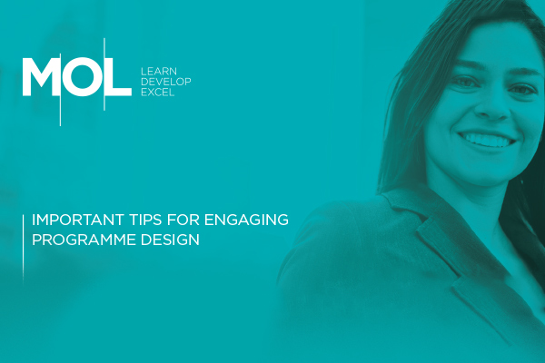 Important tips for engaging programme design