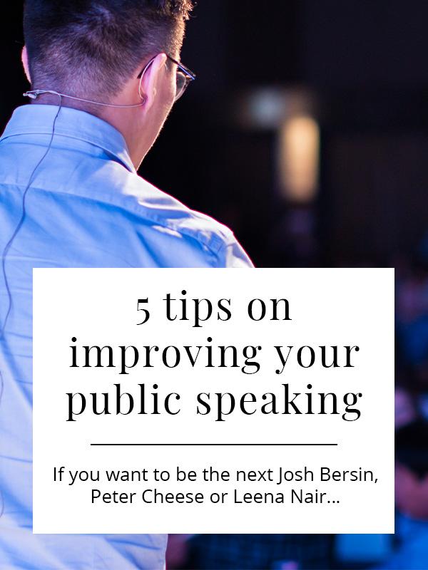 public speaking top