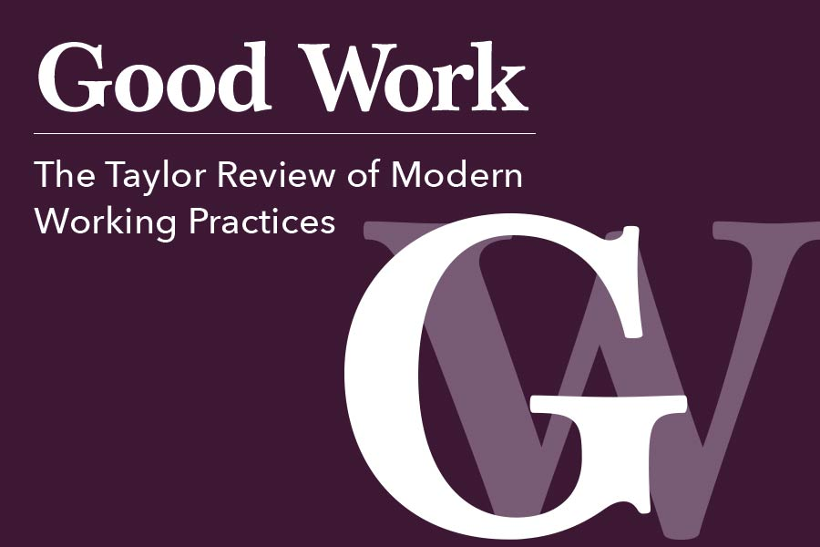 HR reacts to 'wishy-washy' Taylor Review